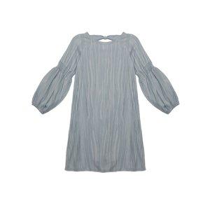 Mabel & Honey Daydreamer Blue Knit Dress