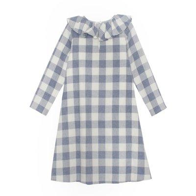 Mabel & Honey Wispering Winds Plaid Woven Dress