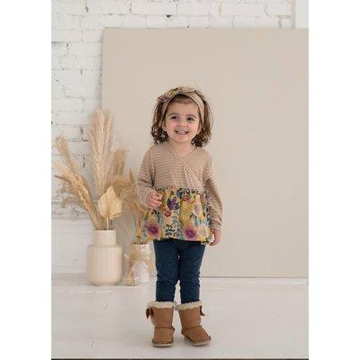 Isobella & Chloe Zen Garden Knit 2PC Set