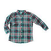 Zuccini Essex Woven Plaid Button Down Shirt
