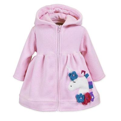 Widgeon Unicorn Light Pink Coat