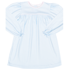 Lullaby Set Mother May I Blue Knit Long Sleeve Dress