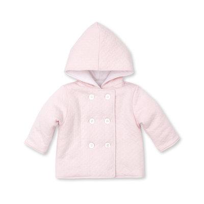 Kissy Kissy Pink Classic Jacquard Padded Jacket