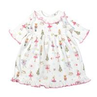 Baby Loren Pink Nutcrackers Pima Doll Nightgown