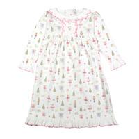 Baby Loren Pink Nutcrackers Pima Night Gown