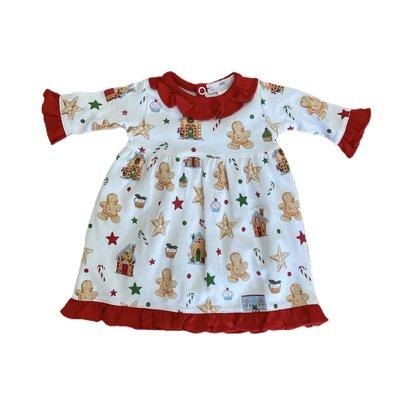 Baby Loren Gingerbread Man Girl Doll Gown