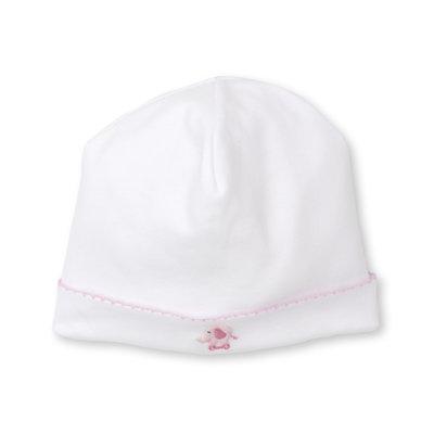 Kissy Kissy Jungle Joy White and Pink Hat
