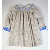 Funtasia, Too Blue/Pink Floral L/S Dress
