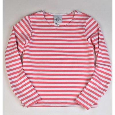 Maggie Breen Pink Stripe Knit Top