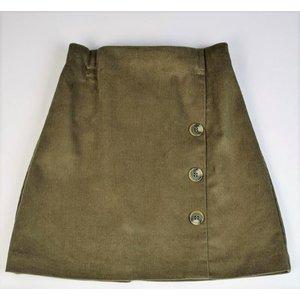 Maggie Breen Olive Corduroy Skirt