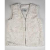 Maggie Breen Cream Fur Vest