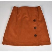 Maggie Breen Rust Corduroy Skirt