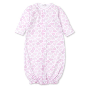 Kissy Kissy Pink Heart Convertible Gown