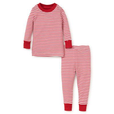 Kissy Kissy Santa Santics Snug Red Pajama Set