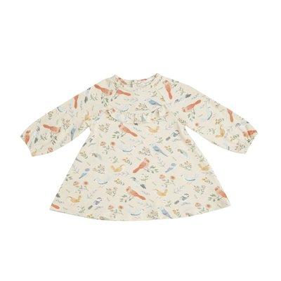 Angel Dear American Bird Ruffle Yoke Dress/Legging Set