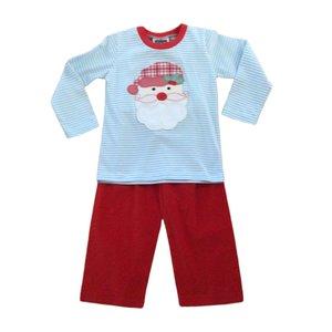 True Santa Applique Boy's Pant Set