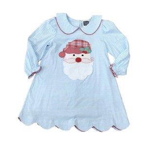 True Santa Applique Dress