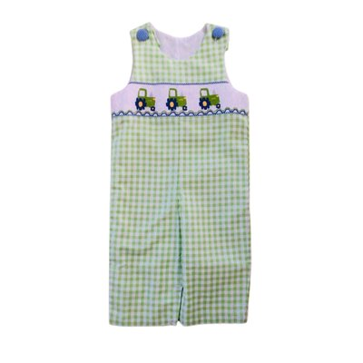 True Tractor Smocked Longall