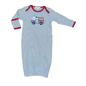 Magnolia Baby Hook and Ladder Lap Gown
