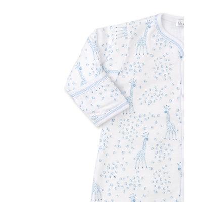 Kissy Kissy Light Blue Speckled Giraffe Convertible Gown