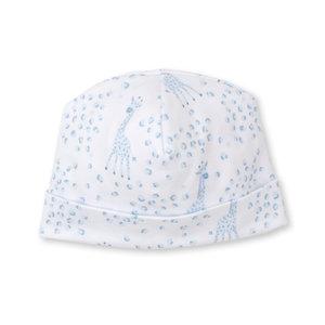 Kissy Kissy Light Blue Speckled Giraffe Hat