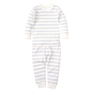 Kissy Kissy Light Blue Striped Pajama Set