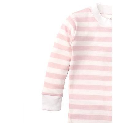 Kissy Kissy Pink Striped Pajama Set