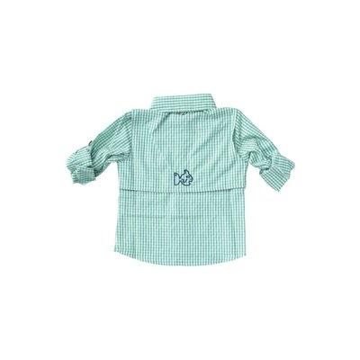 Prodoh Jaded Windowpane Vented Shirt