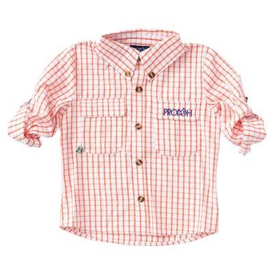 Prodoh Firecracker Windowpane Vented Shirt