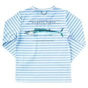 Prodoh Little Boy Blue Stripe Performance Shirt