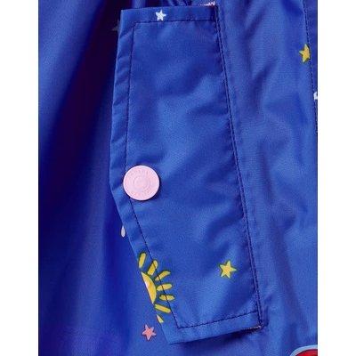 Joules Sky Icons Waterproof Packable Jacket