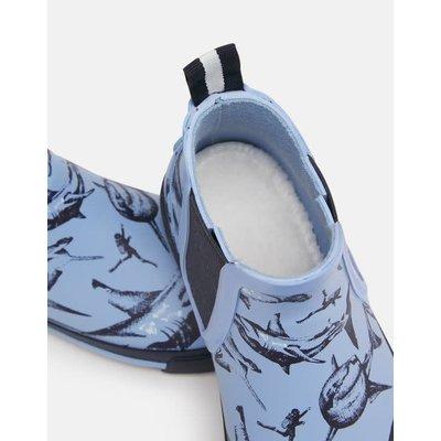 Joules Blue Shark Short Welly
