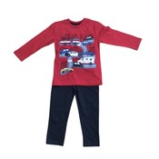 Globaltex Graphic City Scape Tee/Pant Set