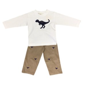 Luigi Raptor Corduroy Pant Set