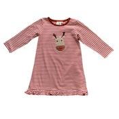 Luigi Rudolph Head Red Striped Dress