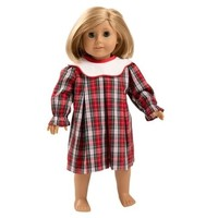 Beaufort Bonnet Company Sea Pines Plaid Worth Avenue White Dolly Long Sleeve Frenchy Frock