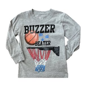 Wes and Willy Buzzer Beater Heather Tee