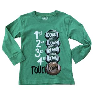 Wes and Willy Touchdown Clover Tee