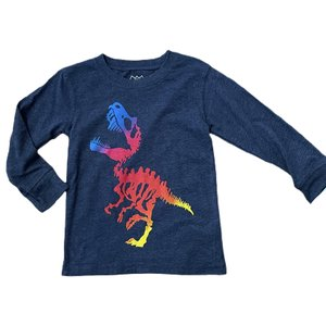 Wes and Willy Ombre Dino Midnight Tee