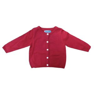 Honesty Clothing Company Red Cardigan Sweater