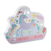 Floss and Rock Fantasy 80PC Butterfly Jigsaw Puzzle with Shaped Box