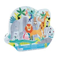 Floss and Rock Jungle 40PC Jigsaw Puzzle in Shaped Box