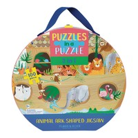 Floss and Rock Jungle 100PC 3 in 1 Puzzle in Case