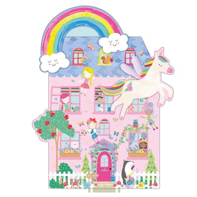 Floss and Rock Rainbow 100PC 3 in 1 Puzzle in Casse