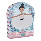 Floss and Rock Enchanted 12PC Shaped Jigsaw with Shaped Box