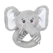 Bearington Collection Lil' Spout Elephant Ring Rattle