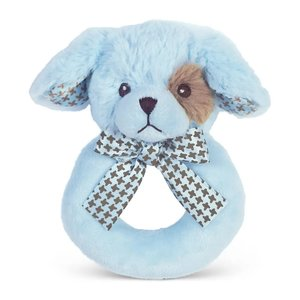 Bearington Collection Lil' Waggles Puppy Dog Ring Rattle