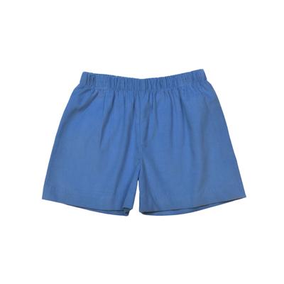 Lullaby Set Blue Cord Liam Shirt/Stewart Short Set