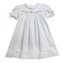 Lullaby Set Tiny Town Heirloom White/Pink Dress