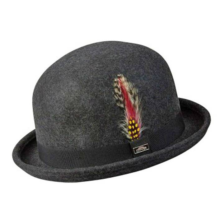 BC Hats Irish Wool Bowler Derby Hat